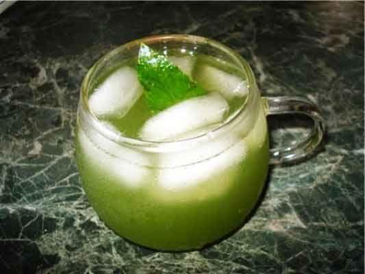Мятно-лимонный коктейль
