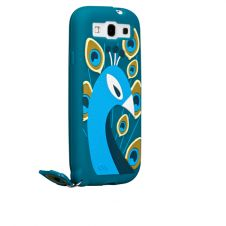 Cute Peacock inspired Creature Case-Mate for your iPhone 5. The beautiful and rich blue color of the case makes this Peacock even more desirable.
