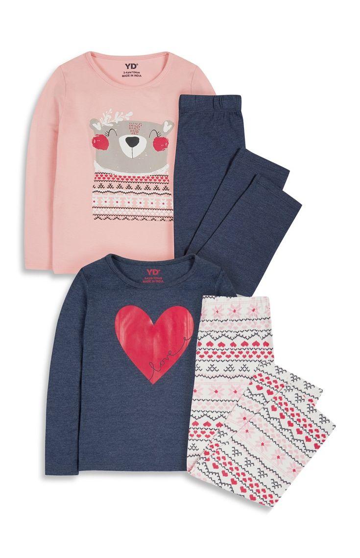Primark - 2PK Younger Girl Pyjama