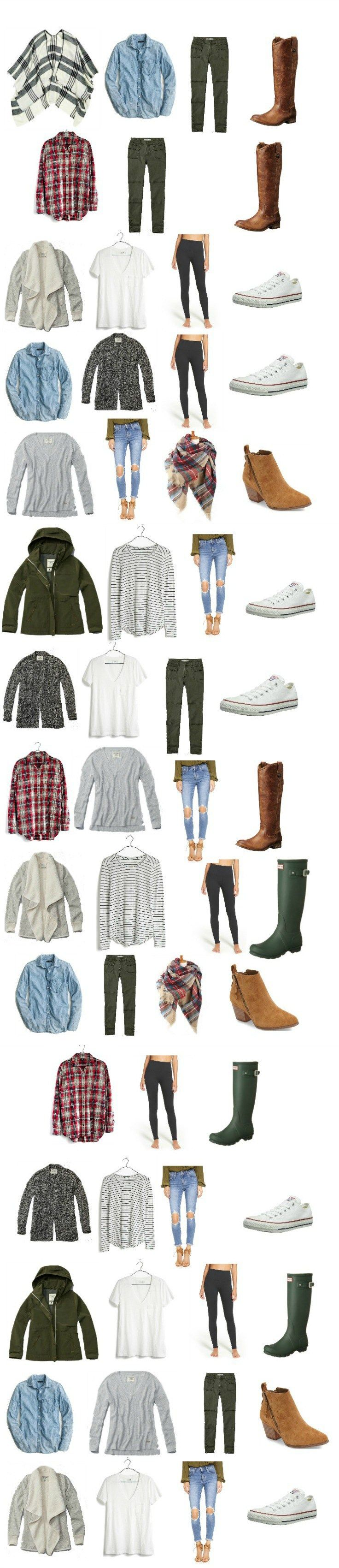 This fall capsule wardrobe for moms will keep you looking stylish, fresh, and, most importantly, COMFORTABLE during the fall season. Many of these items you probably already own!