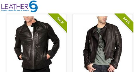 """Look who's in town!! These two fun """"gentlemen jackets"""" by Leather69, that's who! Mention your size and we shall make them for you :) http://bit.ly/1CERfz2 #fashion #style #jacket #leather"""