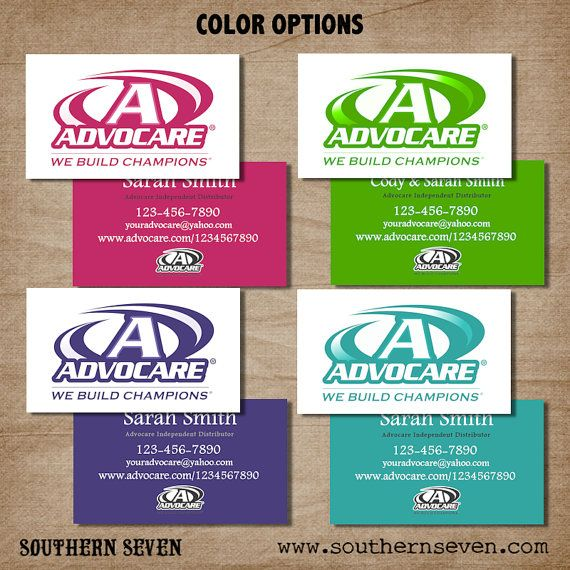 Advocare Business card design and Card designs on Pinterest