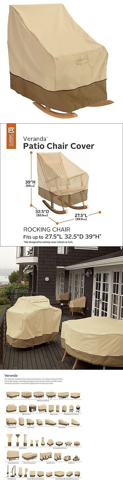 Outdoor Furniture Covers 177031: Classic Accessories Veranda Patio Rocking Chair Cover - Durable And Water Res... -> BUY IT NOW ONLY: $30.91 on eBay!