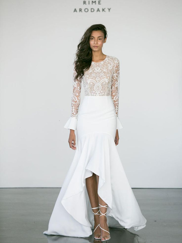 Rime Arodaky Fall 2017: Glam, Ethereal Wedding Dresses | TheKnot.com