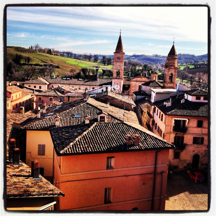 Borgo di Caldarola #lemarche #borghidellemarche #borghiitalia #travel #viaggi