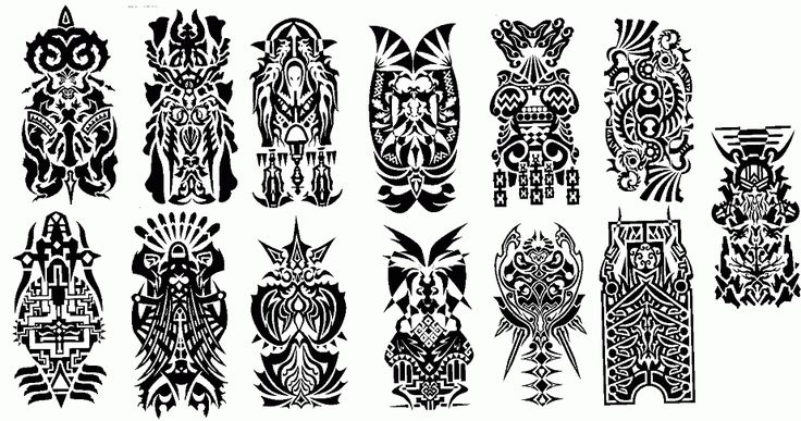 Final Fantasy XII Esper Symbols that correspond to all the signs of the Zodiac. Mine would be capricorn which is the bottom row, 6th from the left. Has a tribal feel with the geek aspect hidden in it.