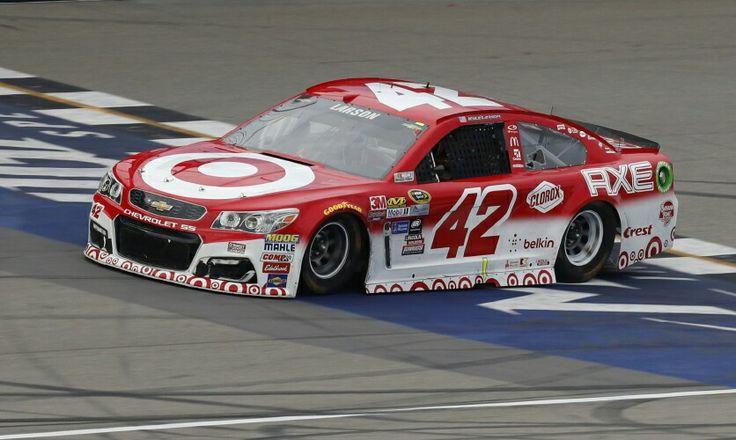 Kyle Larson Target / AXE Michigan winning car (With images