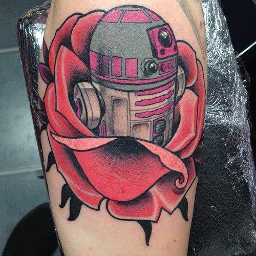 Star Wars Droid Tattoo