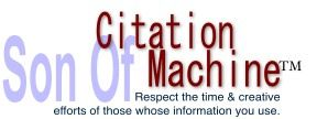 Here is a link to Citation Machine that will format your bibliographic entries to cite all your sources. Remember...give credit where credit is due!