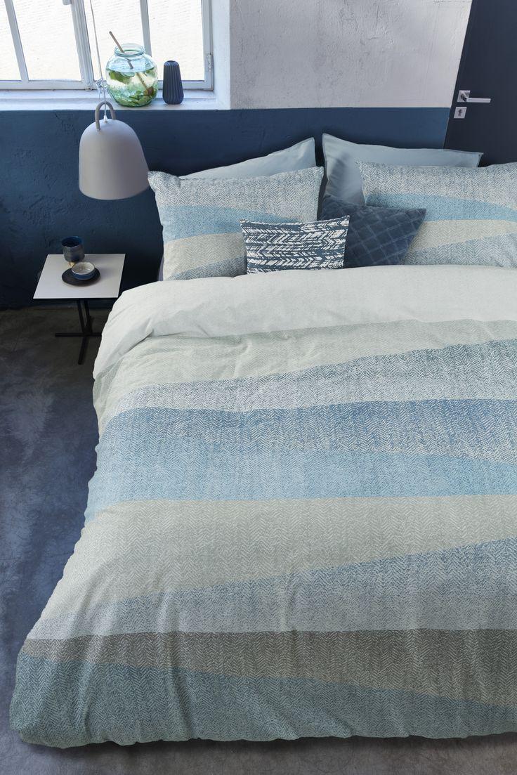 Collection Flag bleu | blue - Housse de couette avec cache oreillers | Duvet cover with shams