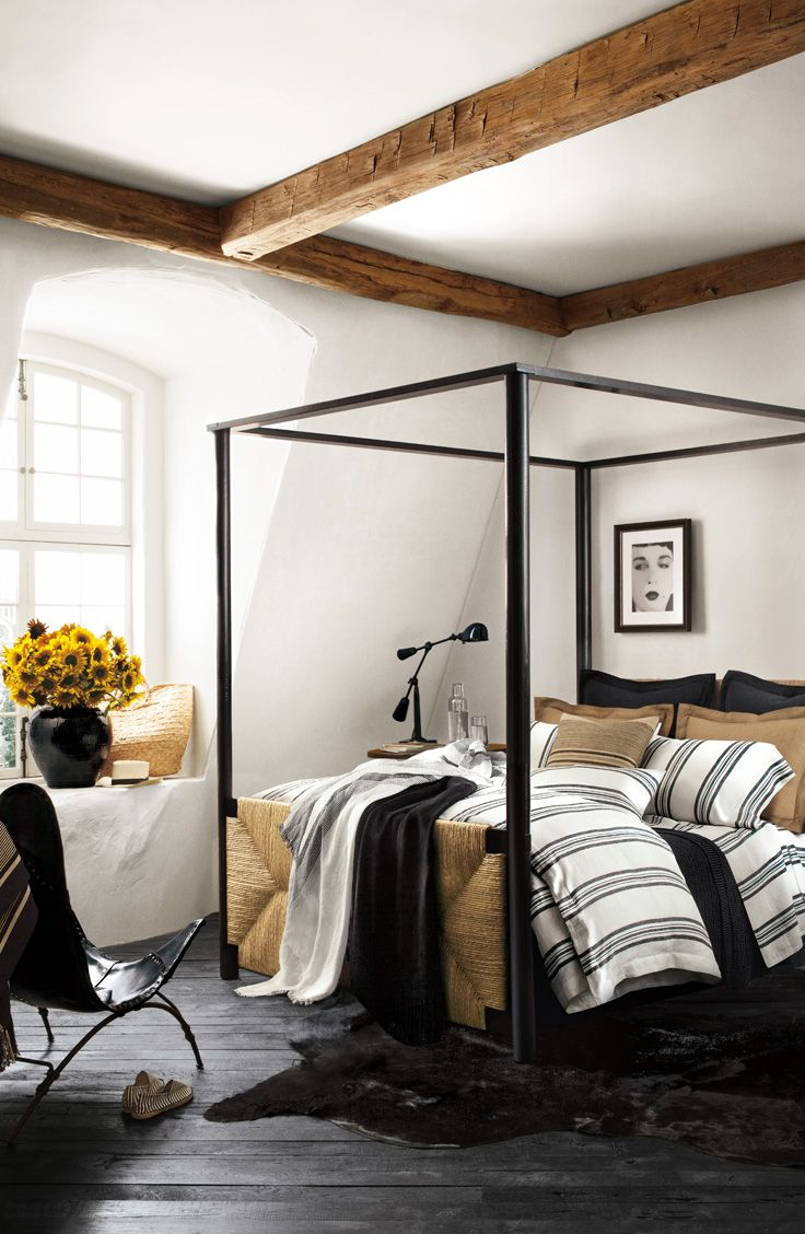 Ralph Lauren Home S Four Post Canopy Bed With Head And