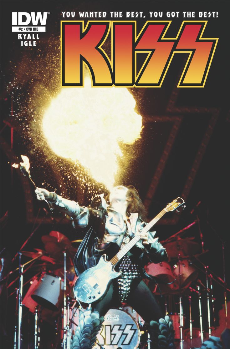 KISS #1 Sells Out Of 24,000 Print Run For IDW: Music, Hottest Band, Simmons Kiss, Kiss Army, Early Years, Kiss Early, Photo, Fire, Gene Simmons