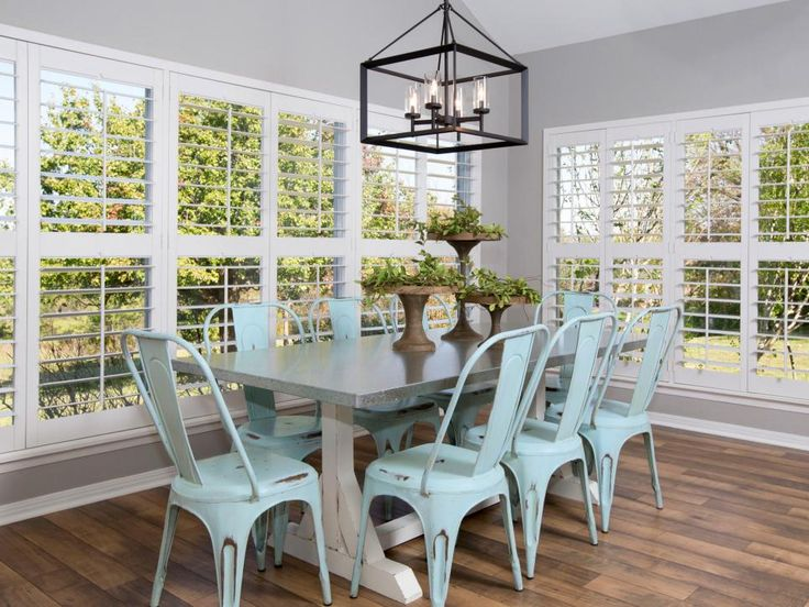 394 best images about hgtv fixer upper with chip for Fixer upper dining room ideas