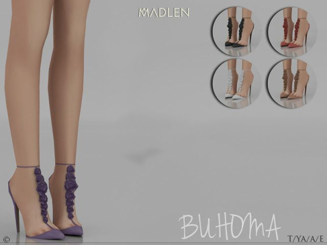 Sims 4 CC's - The Best: Madlen Buhoma Shoes by MJ95