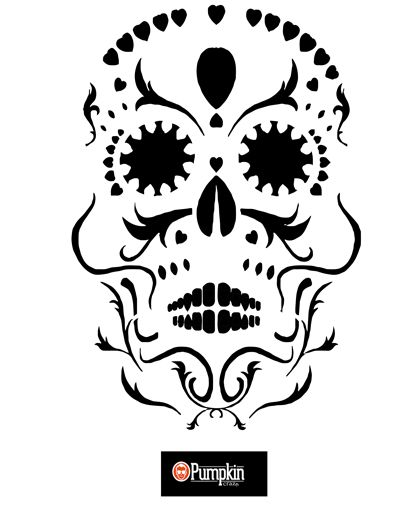 Best 25 sugar skull pumpkin stencil ideas on pinterest sugar looking for free pumpkin patterns you can find easy free difficult scary pronofoot35fo Images