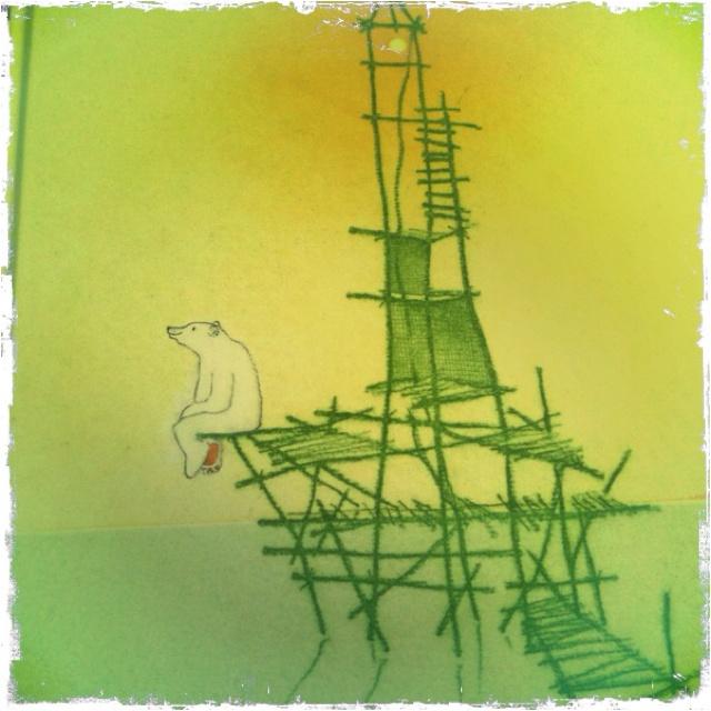 'De boomhut' and 'Het eiland' van Ronald and Marije Tolman - waarin kunst en prentenboek elkaar ontmoeten