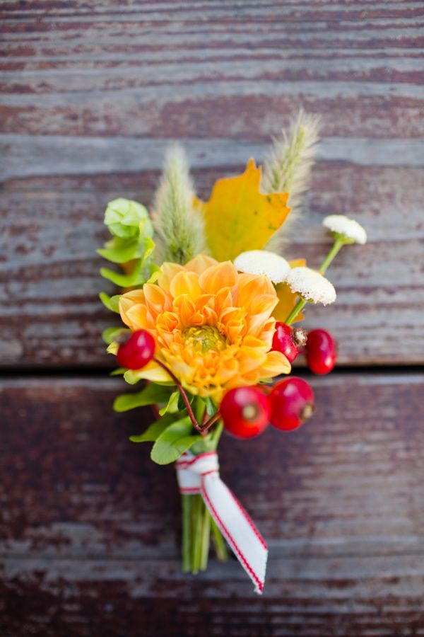summer boutonniere, photo by Acqua Photo http://ruffledblog.com/san-clemente-summer-camp-wedding #yellow #grooms #boutonnieres