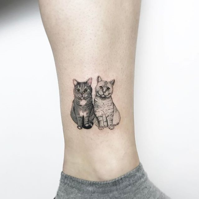 25+ Best Ideas About Cat Tattoos On Pinterest
