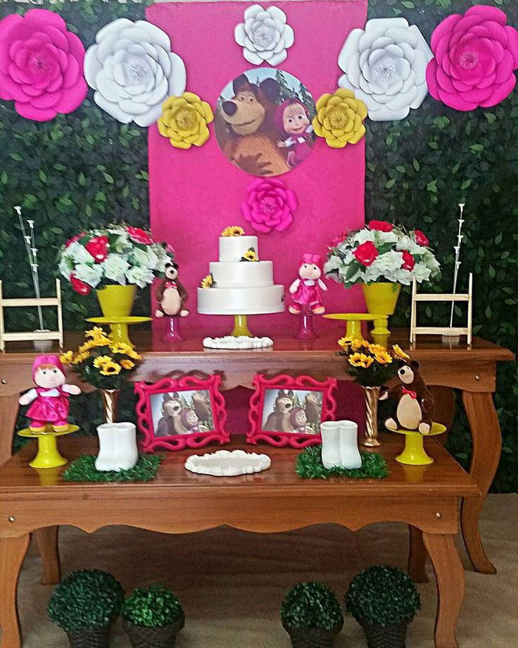 As 292 melhores imagens em Festa Masha eo urso. no ...