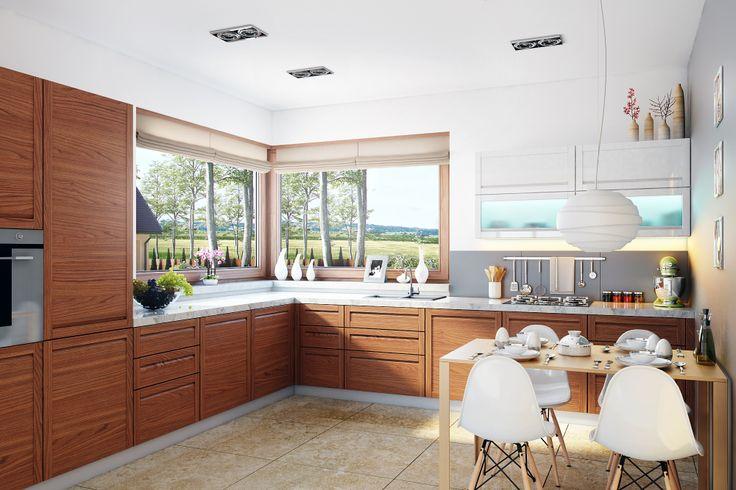 miło jest zacząć dzień śniadaniem w #domu Naomi G2 - #kuchnia i #jadalnia http://www.archipelag.pl/projekty-domow/naomi-g2/?Kind=1Name=naomiSearchForm=1