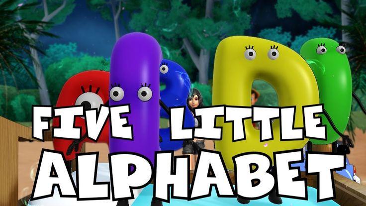 Five Little Alphabets Song | Car Songs | Kids Songs | Frozen Songs | Nur...