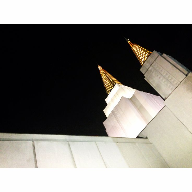 Another angle of the Oakland Temple. It was a beautiful night!