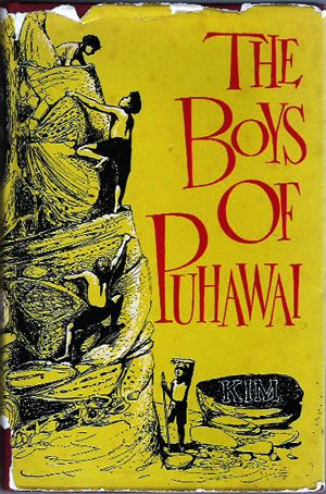 'The boys of Puhawai'  by Kim (Alistair Airey), published by Blackwood Paul, 1960.