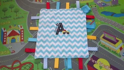 Personalised-Taggie-Lovey-with-Applique-and-Name-Handmade-Dummy-Holder