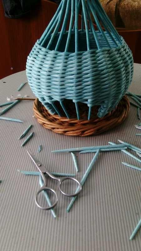 Плетение из газет - Плетение из газет и другие рукоделия - Тема: плетенки от марины (35/47)