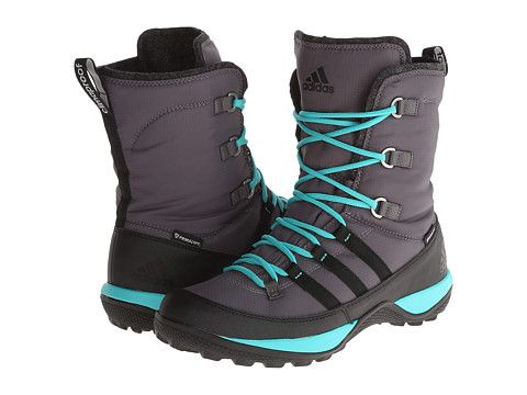 adidas Outdoor Libria Pearl CP PrimaLoft® Sharp Grey/Black/Vivid Mint -  Zappos