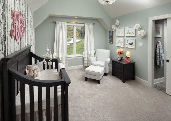 The wall color here is Sherwin Williams Comfort Gray SW 6205.