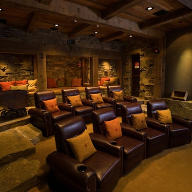 Media Room Design, Pictures, Remodel, Decor and Ideas. I love it!