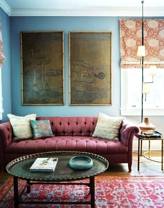Burgundy Furniture Decorating Ideas Color Of The Year Interior Decor Design Find This Pin And More On Couch Leather