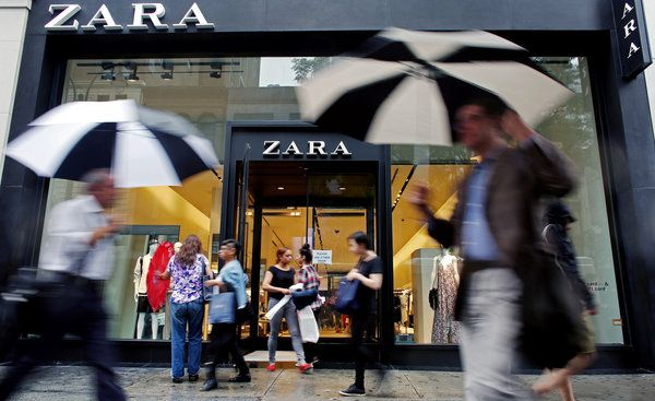 Sales are slumping at American clothing brands like Gap as foreign fast-fashion upstarts like H&M, Uniqlo and Zara lure away customers.