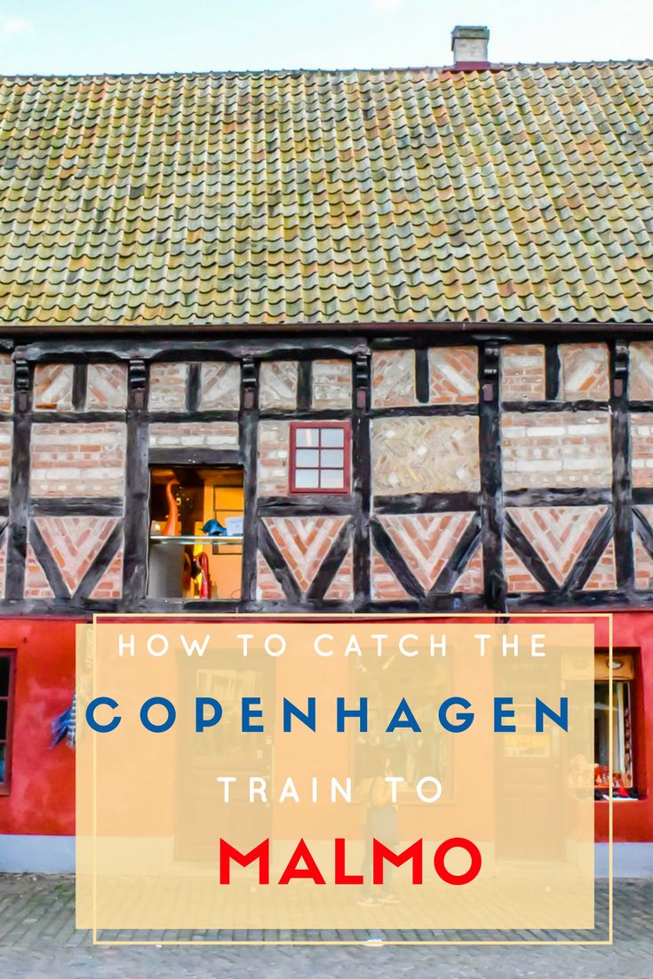 Catching the Copenhagen to Malmo train is easy, and it's a great way to see Sweden. Denmark and Sweden are connected by the Oresund bridge, and in less than an hour you can be enjoying Sweden. via @NiceRightNow