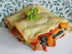Vegagyerek: Spenótos-sütőtökös lasagne