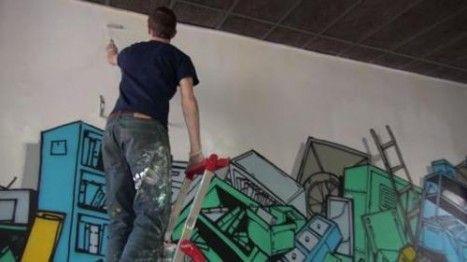 Avant le début des travaux de rénovation, la Médiathèque a donné carte blanche à une équipe de street artistes. Murs, plafonds, portes, livres et meubles… rien a été épargné par les bombes et les pinceaux de Isham, JIem, Lem, Mikostic et Fabien, qui ont donné vie à des œuvres éphémères que vous pourrez admirer les samedis 5, 12 et 19 avril. Découvrez le making-of de « Bibliograff » en exclusivité sur Rbx on Web TV !
