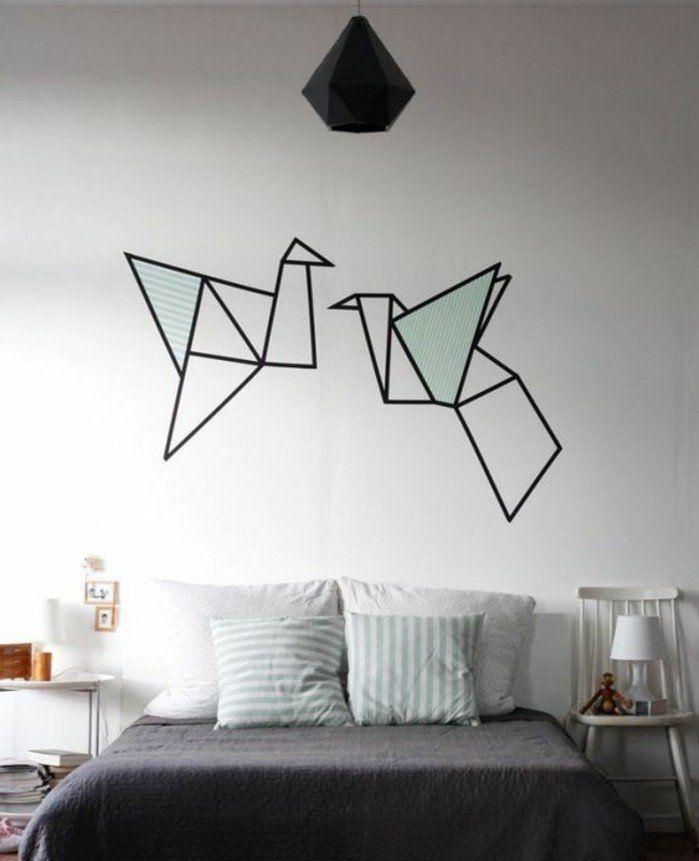 Cheap origami comme deco murale pour apporter une touche for Decoration murale monde