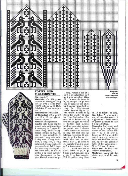 selbu charts knitting - Google Search