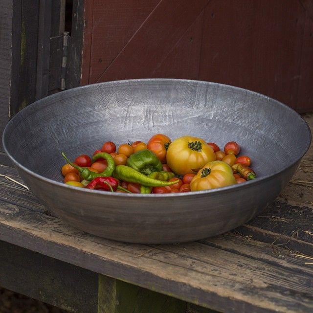 harvest bowl of garden bounty on grow gardenchat