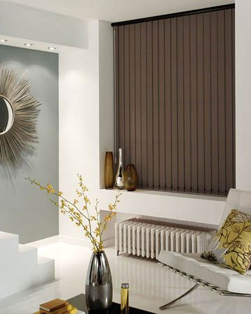 Cheapest Blinds UK | Brown Vertical Blinds