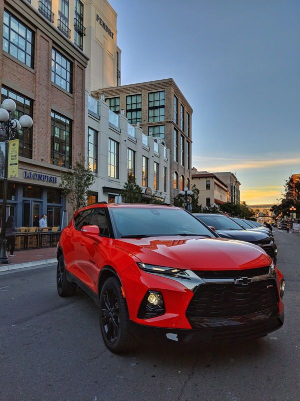2019 Chevy Blazer Sport Suv Looking Cool In San Diego Gaslamp