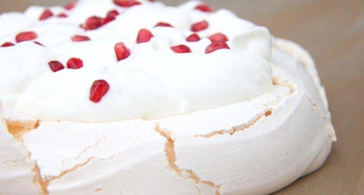 Klasszikus pavlova torta recept