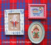 Gera! by Kyoko Maruoka - Alice in Wonderland Miniatures (cross stitch chart)