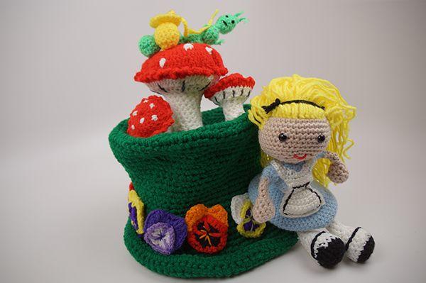 alice in wonderland mad hatter hat tutorial crochet