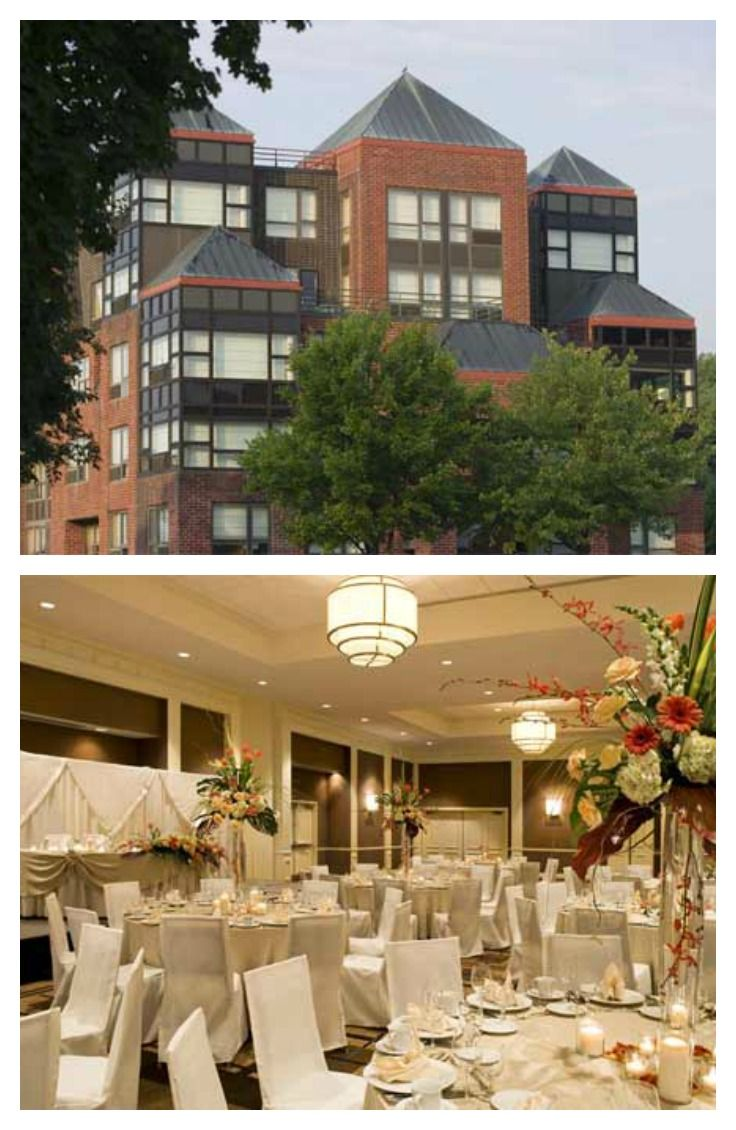 The Saratoga Hilton is a fantastic Saratoga Wedding venue!
