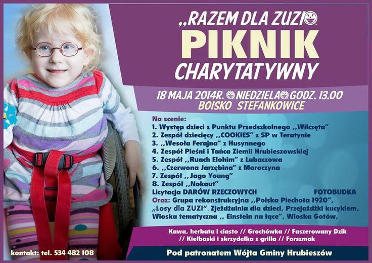 Ma Cherie: Piknik charytatywny dla Zuzi