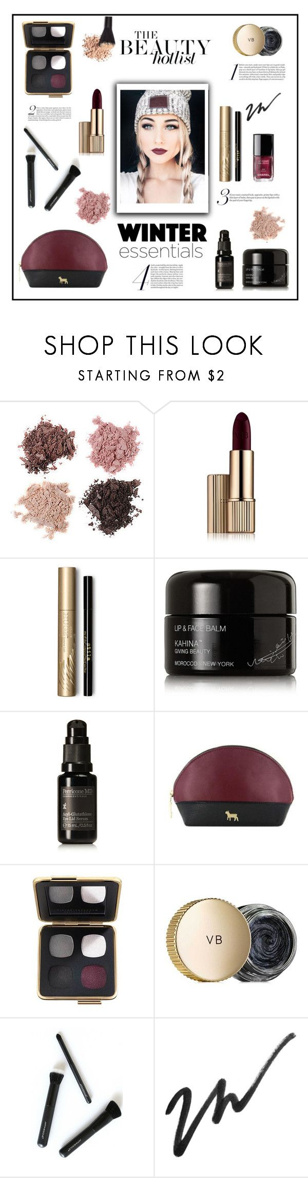 """""""Winter Beauty Essentials!"""" by diane1234 ❤ liked on Polyvore featuring Forever 21, Estée Lauder, Stila, Kahina Giving Beauty, Perricone MD, Noted*, Victoria Beckham, Japonesque, Beauty and pretty"""