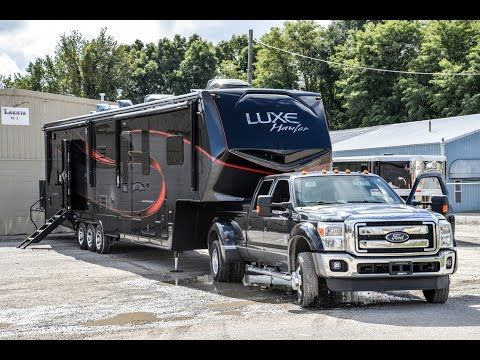 NEW 2017 Luxe Hauler LH-3914 *PROTOTYPE* | Luxury Fifth Wheels | Augusta RV - YouTube