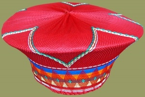 Zulu Hat. 7.1 Traditional	Red